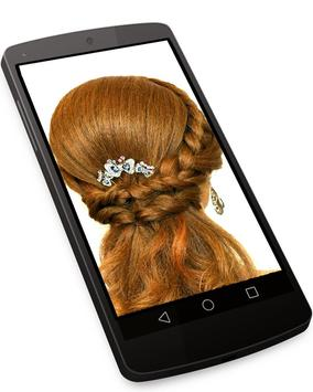 Hairstyle Changer for Girl - Images and Videos screenshot 2