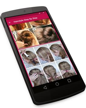 Hairstyle Changer for Girl - Images and Videos screenshot 4