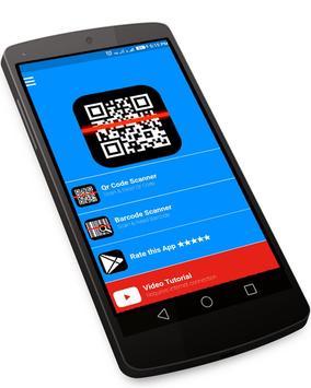 Qr Code Scanner Reader - Barcode Scan Save & Share poster