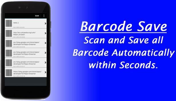 Qr Code Scanner Reader - Barcode Scan Save & Share apk screenshot