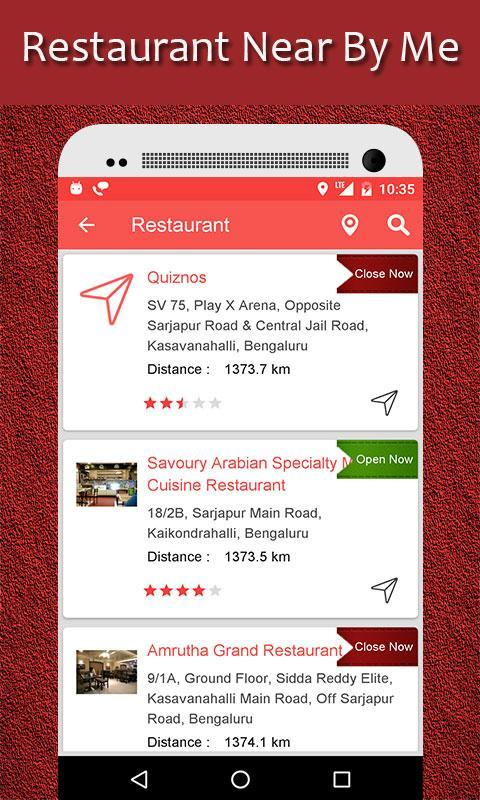 Restaurant Finder : Near By Me for Android - APK Download