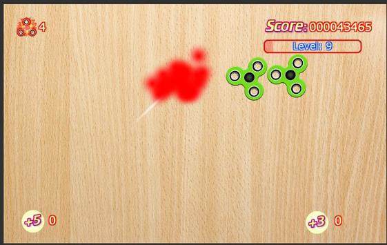 Fidget Spinner Smasher apk screenshot