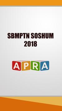 Simulasi SBMPTN SOSHUM 2018 Free poster