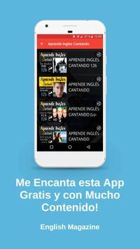 Aprende Ingles Cantando screenshot 4