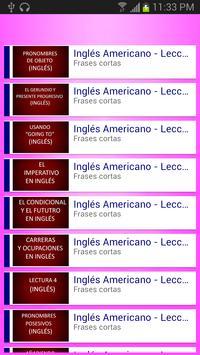 Curso de inglés en vídeo screenshot 7