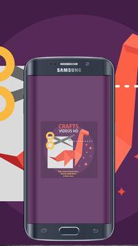 Crafts Video HD apk screenshot