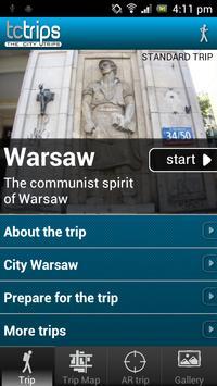 TcTrips Warsaw screenshot 1
