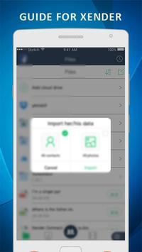 Guide for Xender File Transfer Sharing screenshot 1