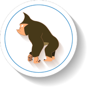 A Trotting Ape icon