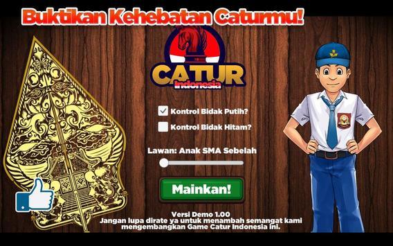Catur Indonesia poster