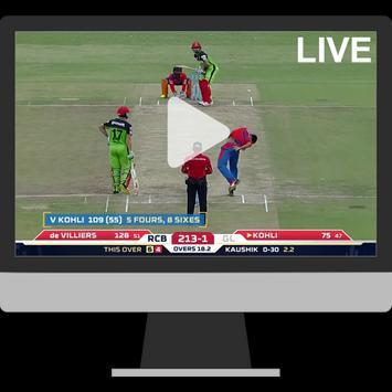 Live Cricket TV Guide & Score apk screenshot