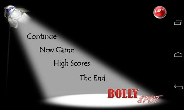 Bollywood game (Bolly Spot ) poster