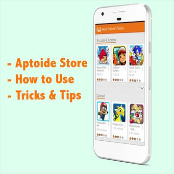Guide for Aptoide Market poster
