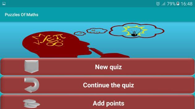 Puzzles Of Maths screenshot 5