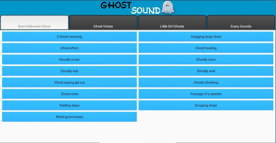 Ghost and Scary Soundboard for Android - APK Download