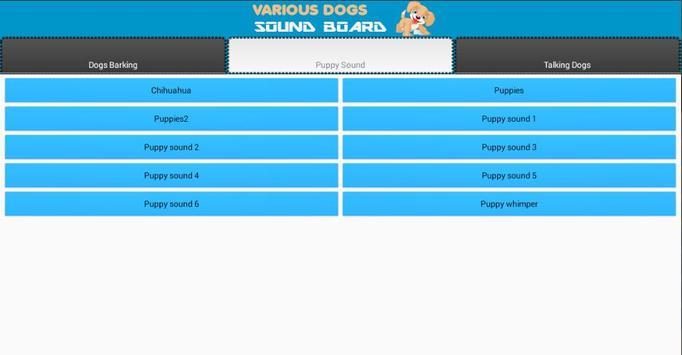 Various Dogs Soundboard apk screenshot