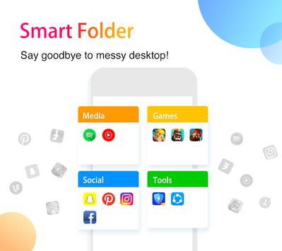 APUS Launcher - Theme, Wallpaper, Hide Apps apk screenshot