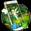 Green Fairy Butterfly-APUS Stylish Theme أيقونة