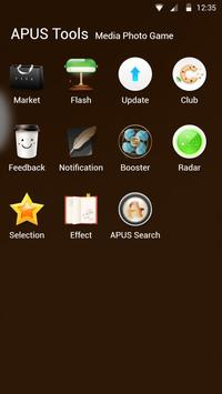 Food&I Love Coffee-APUS launcher theme скриншот 2