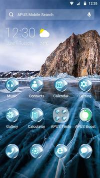 Cold Ice-APUS Launcher theme poster
