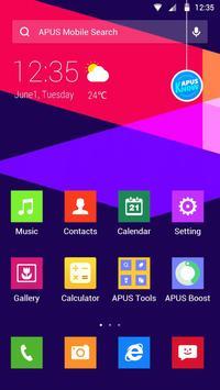 Color Lump-APUS Launcher theme poster