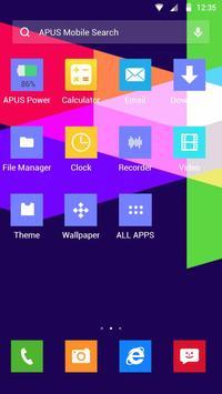 Color Lump-APUS Launcher theme apk screenshot