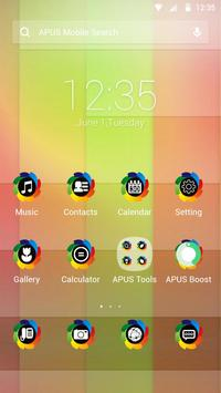 Colorful-APUS Launcher theme poster