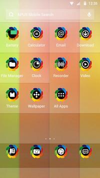 Colorful-APUS Launcher theme apk screenshot