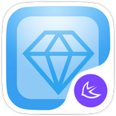 Colorful theme for APUS icon