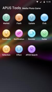 Colorful theme for APUS screenshot 2
