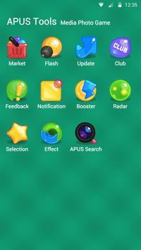 Candy Stars theme for APUS screenshot 2
