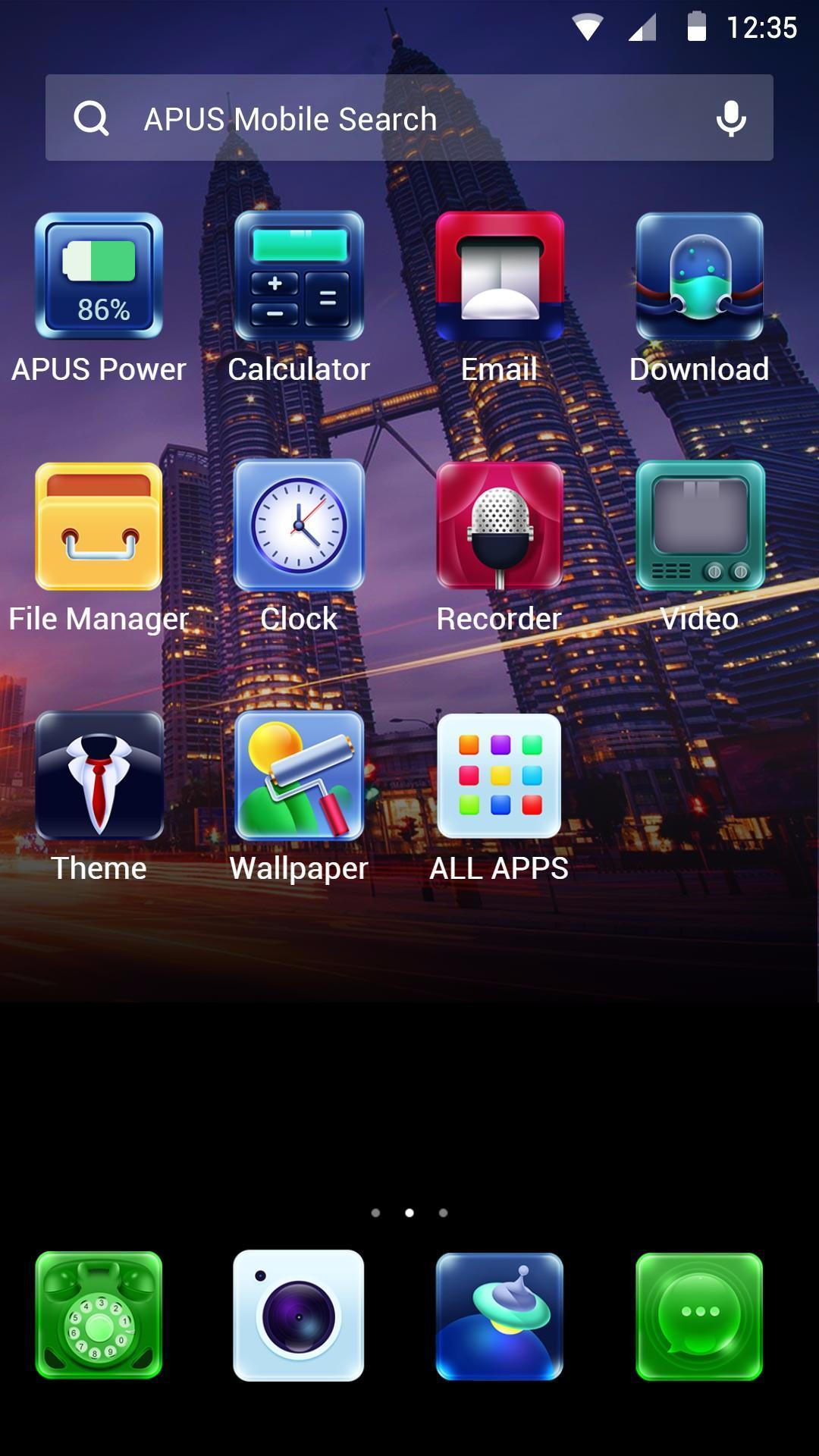 apus launcher app apk download