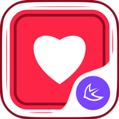 A piece of red cloth theme icon