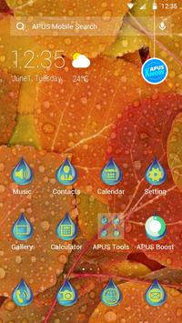 Autumn-APUS Launcher theme poster