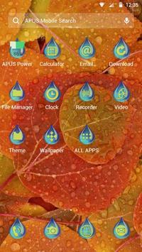 Autumn-APUS Launcher theme apk screenshot