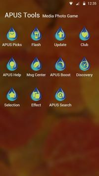 Autumn-APUS Launcher theme screenshot 2