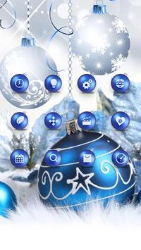 Blue Shine Ball APUS Launcher Theme HD Wallpaper Screenshot 6