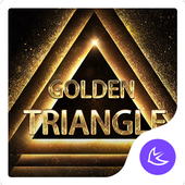 GoldenTriangle-APUS Launcher theme for Andriod icon