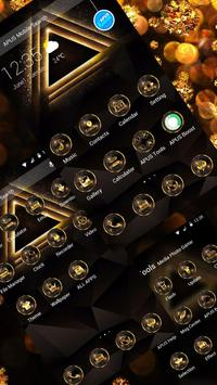 GoldenTriangle-APUS Launcher theme for Andriod screenshot 1
