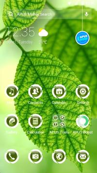 Green|APUS Launcher theme poster