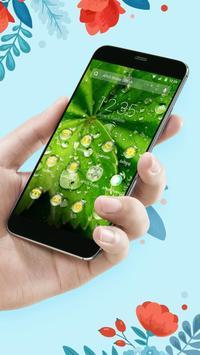 Green-APUS Launcher theme poster