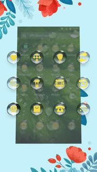 Green-APUS Launcher theme apk screenshot
