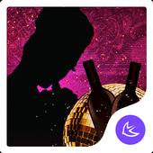 Colorful night-APUS Launcher free theme icon
