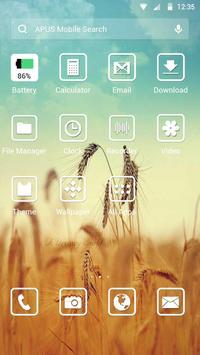 Dreams-APUS Launcher theme apk screenshot