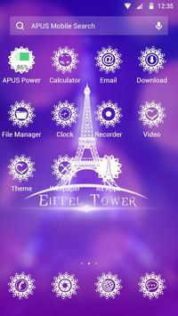 Romance-APUS Launcher theme apk screenshot