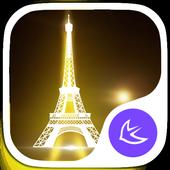 Eiffel Tower theme for Apus icon