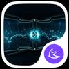 Electric-APUS Launcher theme أيقونة