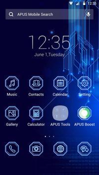 ERA-APUS Launcher theme poster