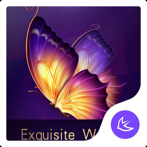Exquisite Violett Thema für Android kostenlos