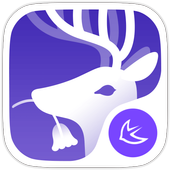 Forest Deer Fantasy theme&HD Wallpaper icon